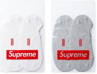 (TORRENT) 2015 春夏 Supreme No Show Sock Box Logo 襪子 短襪 一入兩雙