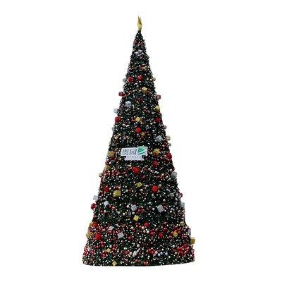 大型框架聖誕樹套餐6米8米10米15米聖誕裝飾樹戶外場景美陳道具