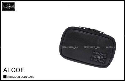 WaShiDa PLUS+【日本 吉田 PORTER × ALOOF 輕皮革 系列 零錢包 卡片夾 】- 預訂 023-03763