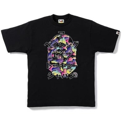 【日貨代購CITY】A BATHING APE BAPE KATAKANA TEE 片假名 短T 黑色 現貨