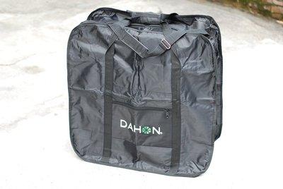 老田單車 DAHON 16吋 加厚型 摺疊自行車袋/攜車袋/背車袋/ 黑色