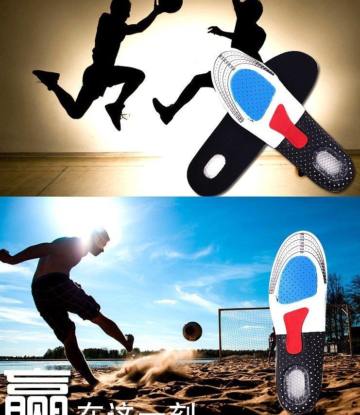 足弓支撐透氣減震運動鞋墊  多功能運動鞋墊