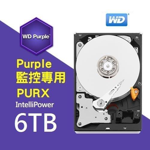 保誠科技~監控硬碟大降價6TB硬碟 含稅價 WD60PURZ 適用長時間 監視監控專用硬碟 影音儲存節能硬碟 WD紫標