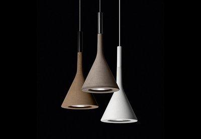 【白夜概念家居】義大利《Foscarini》Aplomb 水泥吊燈 #原廠正品 #LoFT #工業風