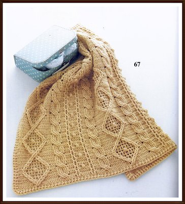 DODO*FAMILY嘟嘟家族手藝坊.編織溫暖毛線毯子.鈎針麻花毛線毯.R8【Olympus.Flavor】