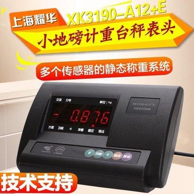 現貨 上海耀華3190-A12E稱重儀表顯示控制器電子地磅儀表計重臺秤表頭