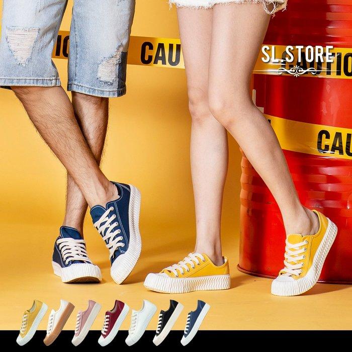 SL Store【1CM07】MIT好想咬一口繽紛情侶休閒餅乾鞋(富發牌).7色/JP23-28