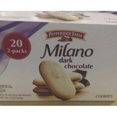 卓佑小舖♥Pepperidge 培伯莉 小米蘭餅乾20入 Milano dark chocolate 培柏利