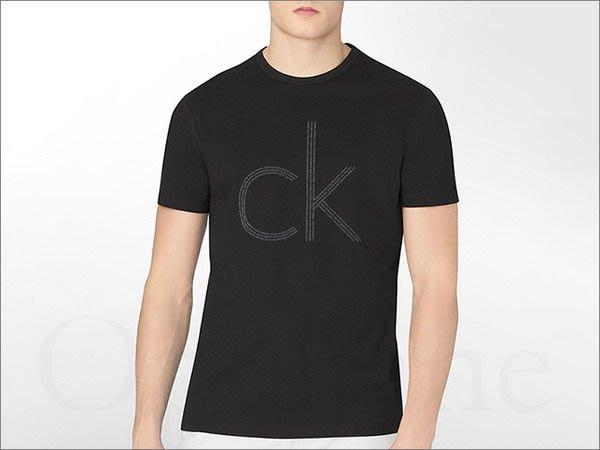 美國 Calvin Klein 卡文克萊CK LOGO短T恤潮T短袖 S M L號黑色 免運費 愛Coach包包