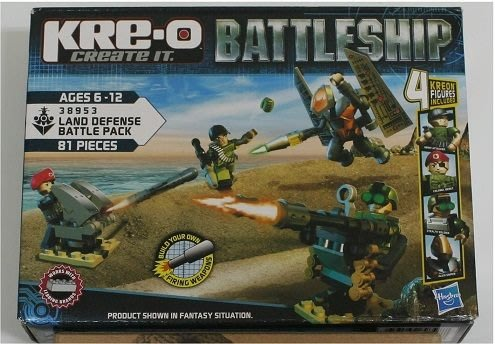 傑仲 (有發票) HRE-O 積木 超級戰艦系列 Land Defense Battle Pack 陸軍防衛戰鬥組 38953 6歲以上
