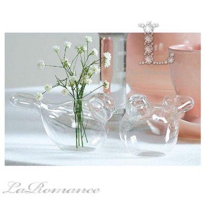 【Creative Home】Natural Elements 自然風情系列小鳥玻璃迷你花器