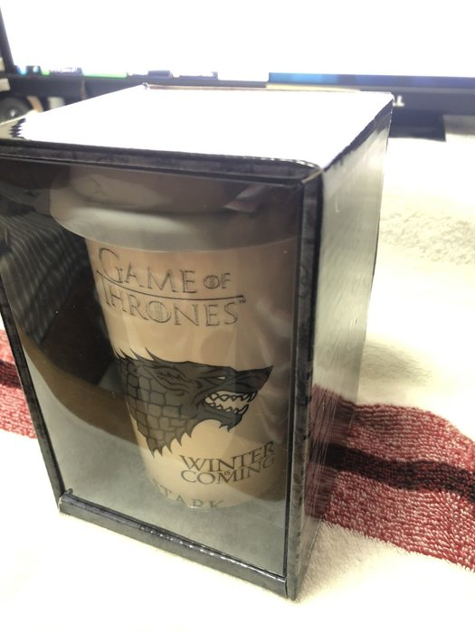 冰與火之歌 權力遊戲 史塔克 咖啡杯 Game of Thrones Winter is Coming
