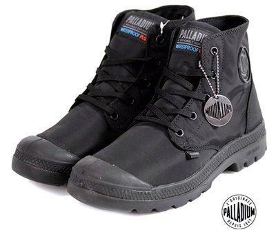 =CodE= PALLADIUM PAMPA PUDDLE LITE+ WP 防水輕量軍靴(全黑)76117-008 男