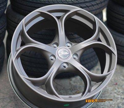 【美麗輪胎舘】ALFA ROMEO 新款鋁圈 18吋 5孔108/114.3 8J 古銅