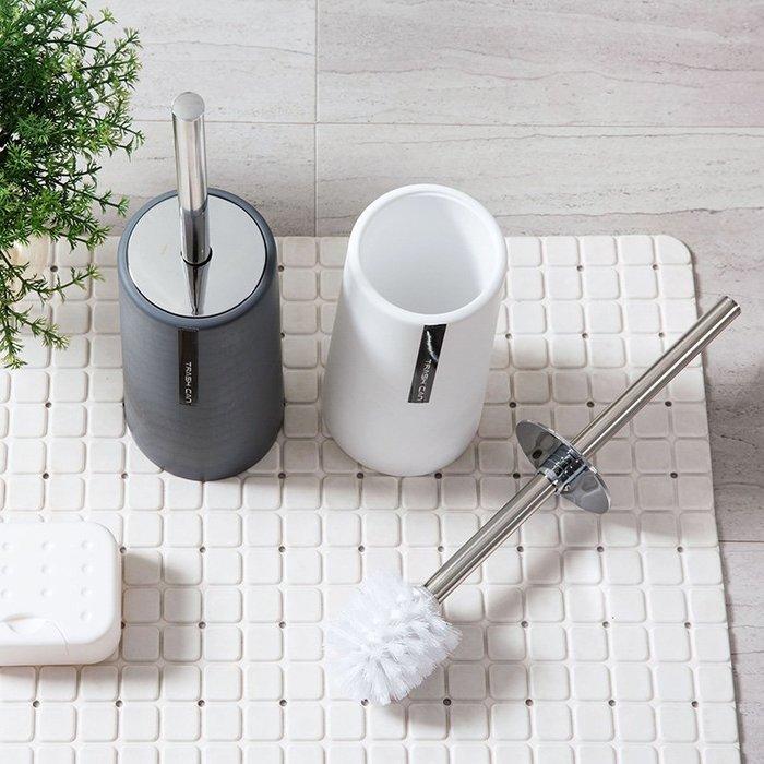 品如衣櫃 軟毛刷 日系清潔劑 居家家 素色馬桶刷套裝衛生間清潔刷 長柄洗廁所刷子坐便器潔廁刷