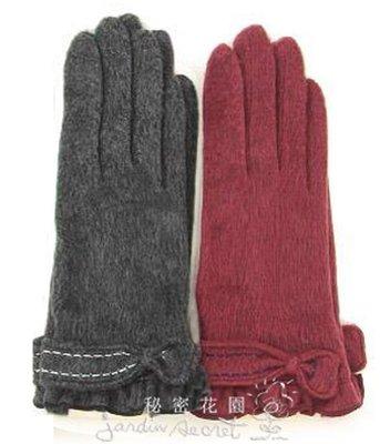 手套--日本進口柔軟觸感保濕成分配合蝴...