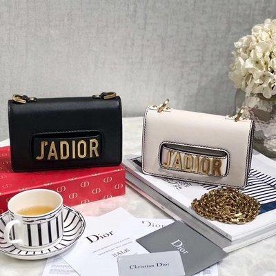 迪奧 Dior mini Jadior 翻蓋包 鏈條包 18