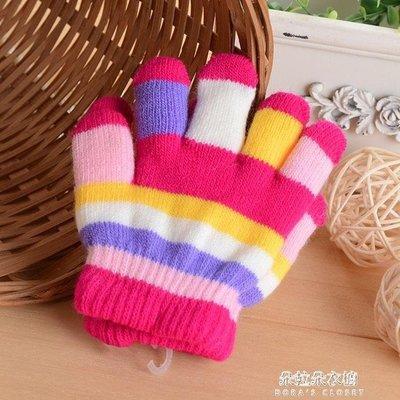 ZIHOPE 寶寶手套秋冬款男童女童加厚加絨保暖兒童手套五指小孩嬰兒手套冬ZI812
