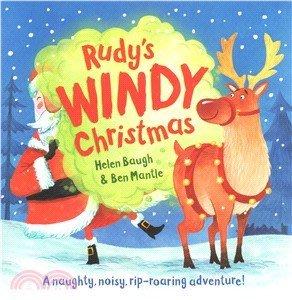 *小P書樂園* Rudy's Windy Christmas 精裝