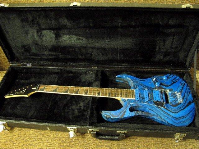 ☆ 收藏出讓︵☆ Ibanez JEM 款電吉他(JEM 琴身訂製改裝)