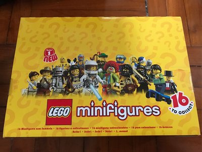 Lego minfigs series 1 & 2 full box (not open)
