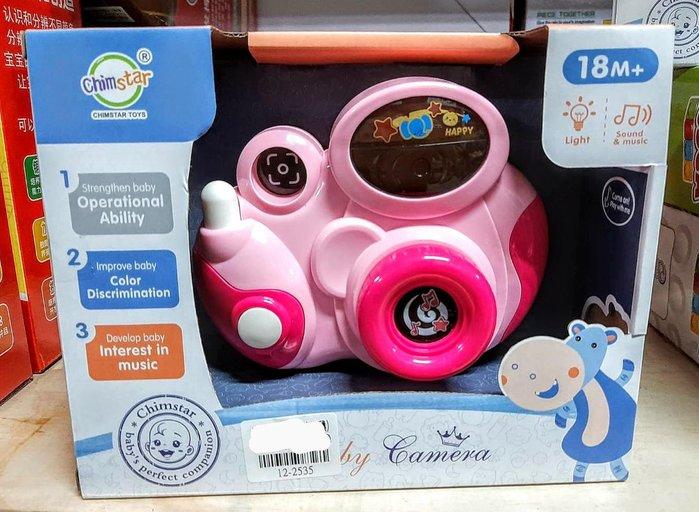兒童嬰幼兒仿真可愛音樂照相機玩具 有拍照有音效哦 手腦學習 親子互動 安全無毒 兒童益智玩具 生日禮物 現貨桃園