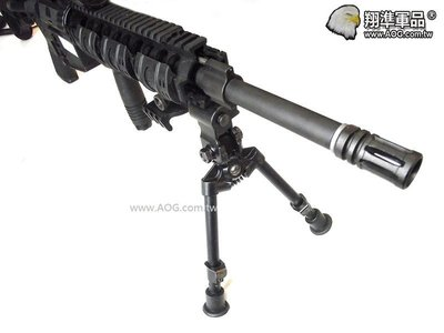 【翔準軍品】AWP 寬軌魚骨快拆腳架 金屬 狙擊槍架 狙擊手 生存遊戲 折槍 B06000A