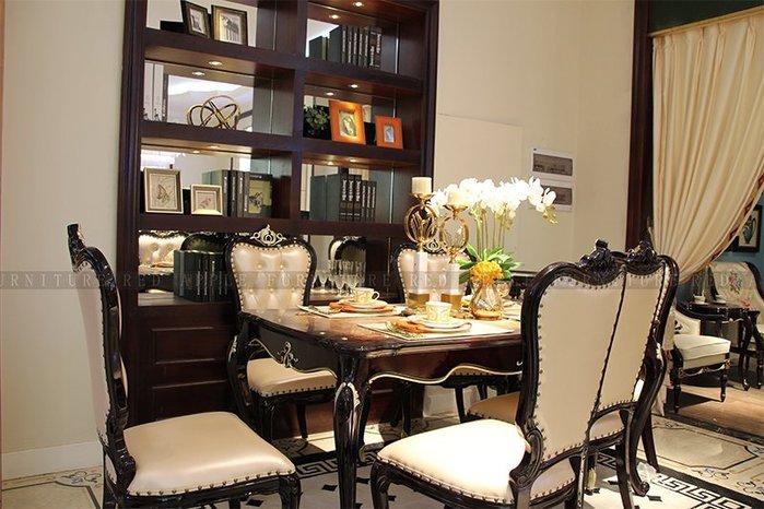 [紅蘋果傢俱] 8601 新古典 輕奢系列 餐桌椅 椅子 (另售長餐桌)