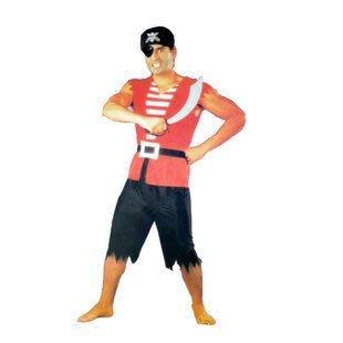 千奇坊萬聖節服裝加勒比海盜服裝/成人男海盜表演服裝 1套260g