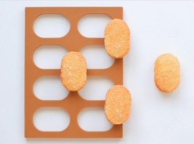 Amy烘焙網:日本原裝進口橢圓型達克瓦茲/達克瓦茲定型模/愛心達克瓦茲/達克瓦茲餅乾