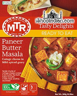 印度奶油奶酪咖哩調理包 MTR Paneer Butter Masala