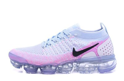 D-BOX NIKE Air VaporMax FlyKnit 2.0 編織 透氣 粉白 氣墊 942843-102