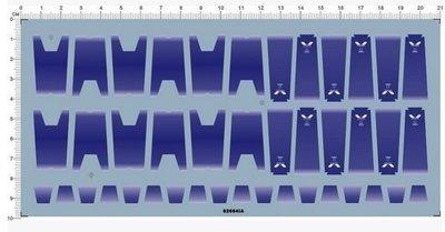 [紫色偏藍]MG RX-93-v2 Hi-V Hi-Nu Ka 卡版海牛鋼彈 感應炮 水貼