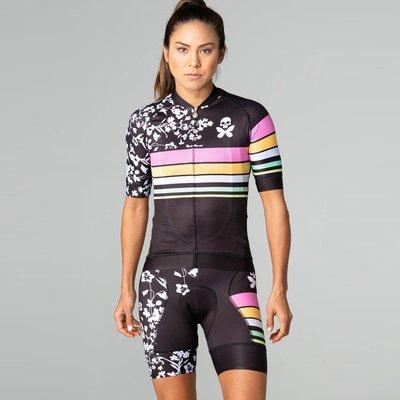 【三鐵共購】【Betty Designs】(女) World Champion 3.0 短袖車衣+吊帶車褲