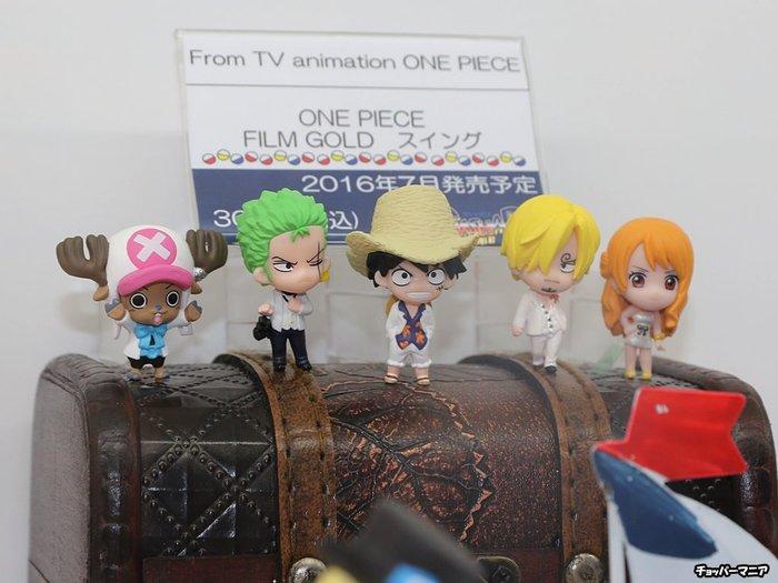 【動漫瘋】日本正版 海賊王 航海王 扭蛋 系列 吊飾 劇場版 GOLD篇 全套五款 魯夫 索隆 娜美 喬巴 香吉士