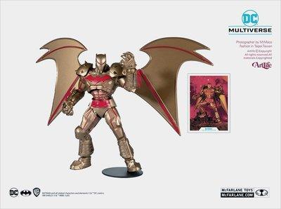 ArtLife @ McFarlane DC MULTIVERSE HELL BATMAN 麥法蘭 地獄 黃金蝙蝠俠