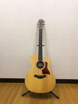 三一樂器 Taylor 214 CE-K DLX 全單 電民謠吉他 電木吉他 原木色