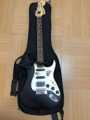 Fender Stratocaster Highway One with Boss Blues Effect