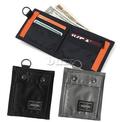 巴斯 日標PORTER屋-新改款 二色預購 PORTER TANKER 直式皮夾-短夾 622-68168