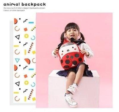 【愛瘋潮】KAKOO 絨毛雙肩背包3 遠足旅行背包 動物造型背包 双肩背包 兒童背包 小朋友背包