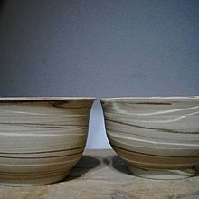 (00309)手拉坯絞胎對杯