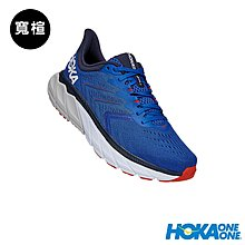 憲憲之家Arahi 5 男鞋 寬楦 路跑鞋 藍白 Hoka One One HO1115011TSWH