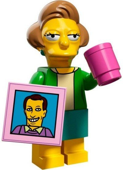 現貨【LEGO 樂高】益智玩具 積木/ Minifigures人偶系列:辛普森2代人偶包 克拉巴+杯子畫像 71009