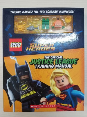 全新LEGO Justice League Training Manual 連 Aquaman 人仔