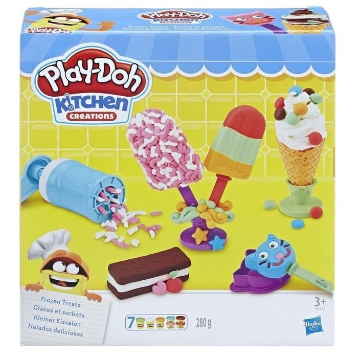 Play-Doh 培樂多黏土 培樂多廚房系列 美味冰品組