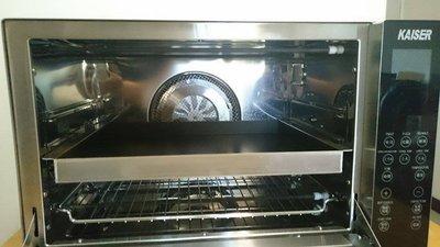 【1A45535F-A】Kaiser威寶42L烤箱專用不沾深烤盤(有翅膀)(宅配)