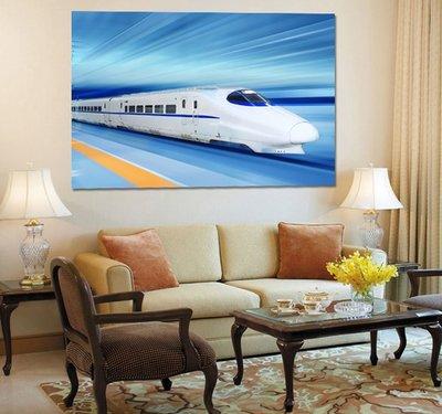 客製化壁貼 店面保障 編號F-452 高速鐵路 壁紙 牆貼 牆紙 壁畫 星瑞 shing ruei