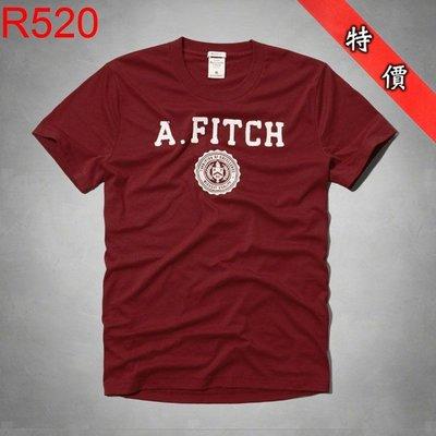 【西寧鹿】AF a&f Abercrombie & Fitch HCO T-SHIRT 絕對真貨 可面交 R520