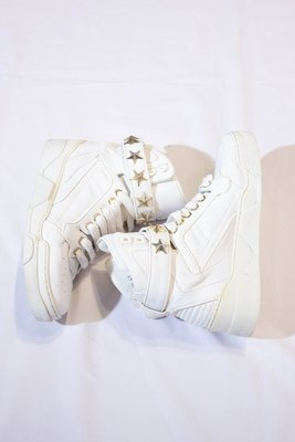 GIVENCHY White Star and nail casual shoes. 星星 高筒鞋