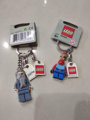 LEGO 樂高鑰題圈.哈利波特.海綿寶寶系列